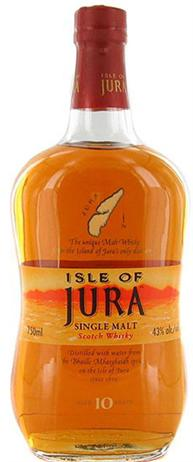 Jura Scotch Single Malt 10 Year Origin